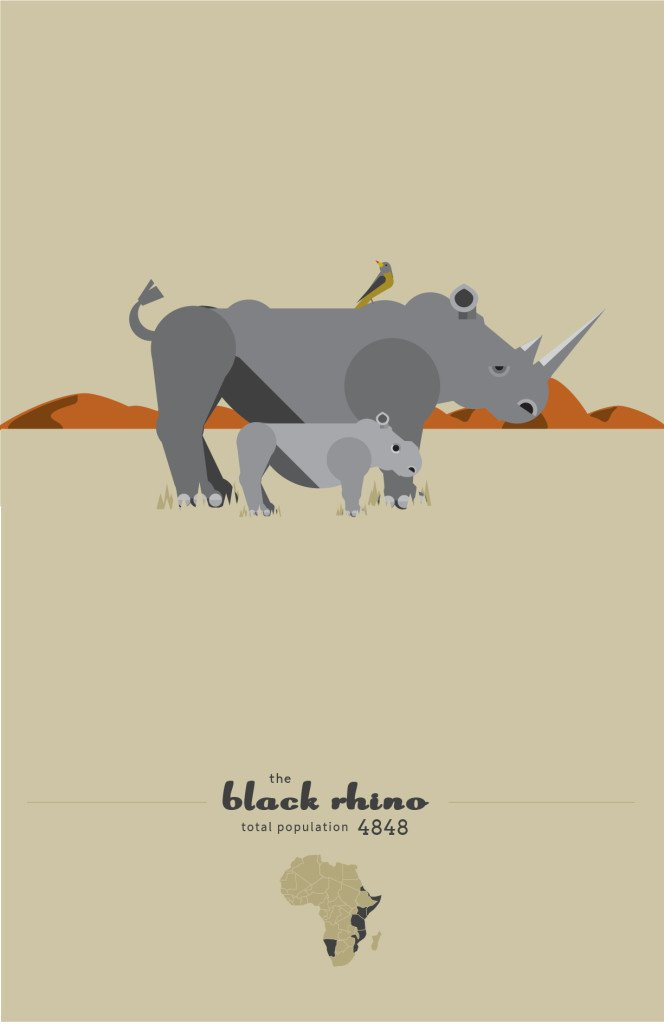 The Black Rhino by Sean Duggan